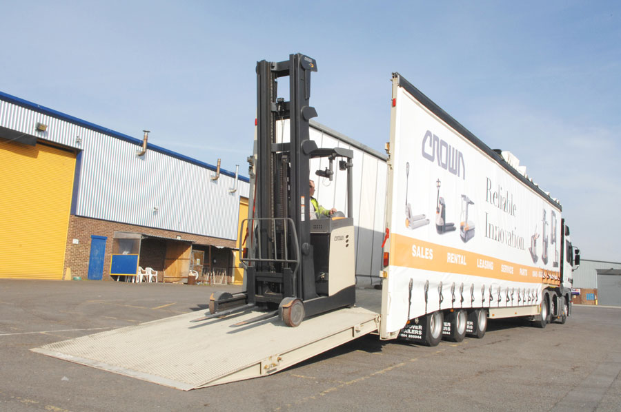 Forklift Trailers « Andover Trailers